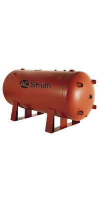 ao smith unjacketed storage tank