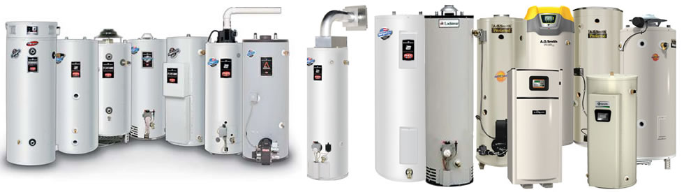 <commercial gas water heaters and commercial electric water heaters>